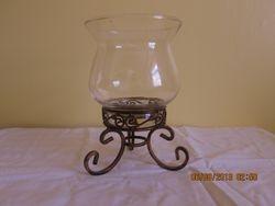 Vintage large candel holder