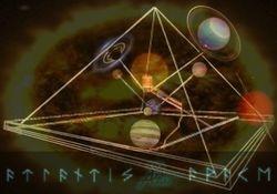 Geometric-Mathematical Pyramid 'Time Capsule'