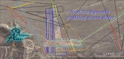NazCAD Pyramid Drafting Board Ruler