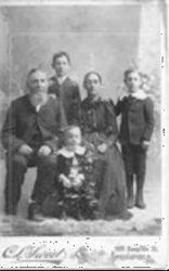 Martin Van Buren Bass and family