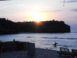 Sun set Bali