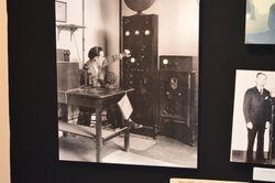 Vaughn in Radio Staion
