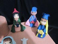 Nativity three wise men