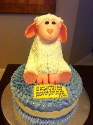 Emylu's Lamb cake