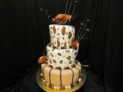 Topsy Tutvy with brown roses