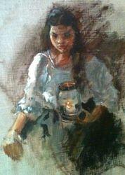 LANTERN GIRL (sold)