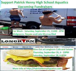 Upcoming PABC Fundraisers - Car Wash (9/21) - Longhorns (9/26, 9/28)