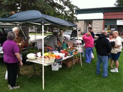 Oneida Farmers Market in September