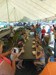 Sweet Corn Eating Contest