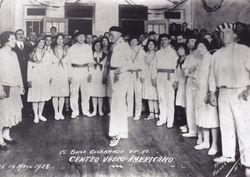 1928 Joaquin Astoreca dancing Aurresku CVA