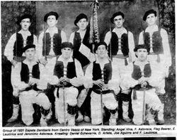 1931 NY men's dancers