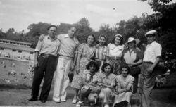 1940 NY picnic Irene