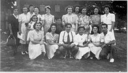 1941 NY picnic group foto