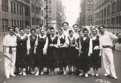 1948 Dancers in street
