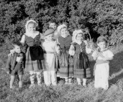 1955 NY children dancers