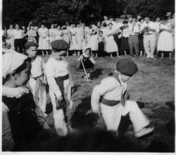 1955 NY picnic dancers