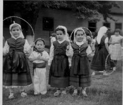 1956 NY children dancers