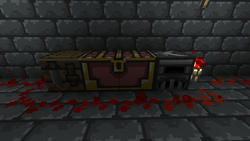 Workbench, chest, and furnace
