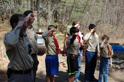 """""""Scout Salute!"""""""