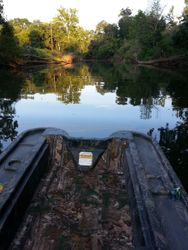 Cruising down LoneStar Stream