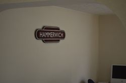 Hammerwich Totem inside the former Station House