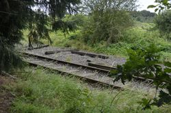 View from where Hammerwich Signal Box use to be
