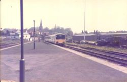 DMU at Platform 2,  June 1985