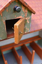 Nice old handle on dormer opening