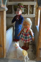 The little girl is a Lotte Sievers-Hahn doll