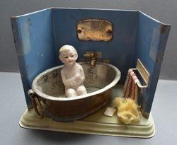 Little tin bathroom