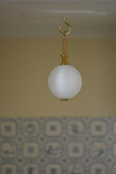 Home-made light fitting