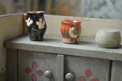 Tiny jugs from the fleamarket