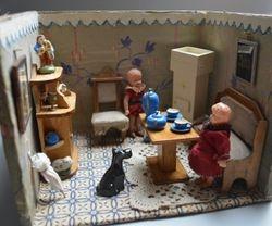 Tiny dolls' room
