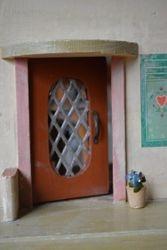 Front door in perfect condition