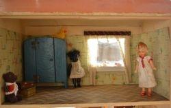 Bedroom with prospective tenants