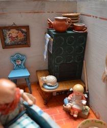 "The ""Kachelofen"" or tiled stove..."
