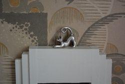 Close-up of cat ornament