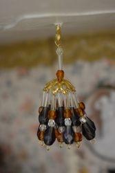 Glass bead chandelier, tweaked