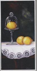Lemon Under Glass