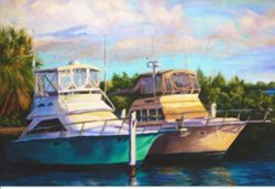 Boat in the Harbor