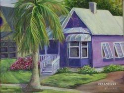 Purple House in Punta Gorda