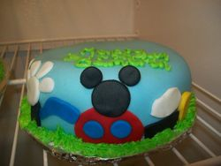Mickey Clubhouse Smash Cake