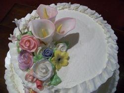 Katie's cake closeup