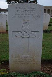 Gunner D. Padgett grave