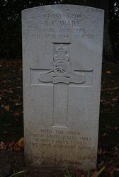 L/Bdr A.K. Ware grave