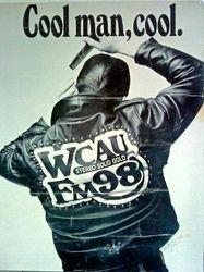 WCAU-FM poster