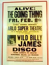 '70's concert/disco poster