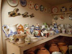 Lots of nice pottery