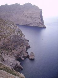 Vidikovac na putu ka Cap de Formentor