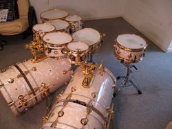 Crazy blingy DW kit